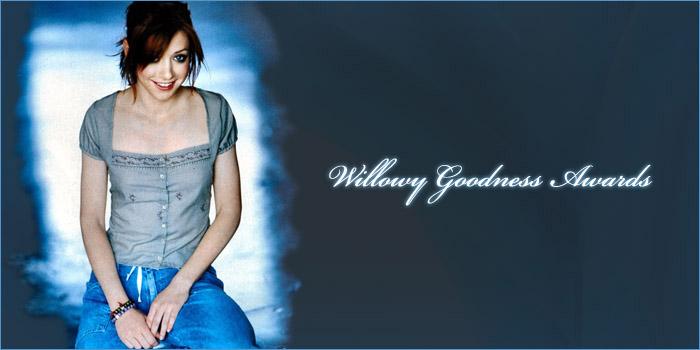 Willowy Goodness Awards ~ Winners
